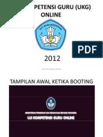 Tampilan Ukg Online 2012