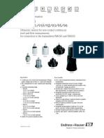 Prosonic S FDU9x