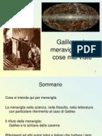 Galilei e la meraviglia delle cose mai viste