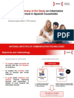 Executive summary of the Study on information security and e-trust in Spanish households, Annual report 2011 (17th wave)