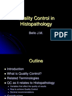 Quality Control In Histopathology