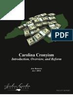 Carolina Cronyism