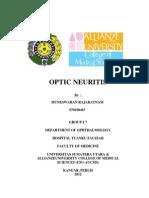 Makalah Optic Neuritis