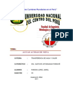 TRATAMIENTO DE AGUAS ACIDAS DE MINA(producción, solución, prevención)