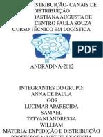 TIPOS DE DISTRIBUIÇÃO- CANAIS DE DISTRIBUIÇÃO - Cópia