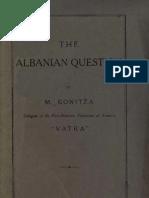 The Albanian Question - Mehmet Konitza [Mehmet Konica] (1818)