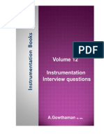 Instrumentation Interview Questions