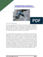 SOBRE EL FRIO Y LA DURACIÓN DE LA CARGA DE LAS BATERÍAS EN LOS TALADROS USADOS EN ESPELEOLOGÍA