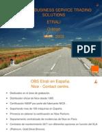 Presentacion Obs-ts Etrali s.a. Orange