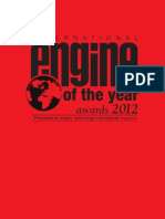 International Engine of the Year Awards - 2012