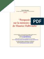 Memoire Soc Halbwachs