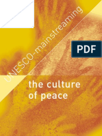 The Culture of Peace UN ES CO -m Ai