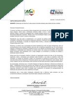 Carta de Mobilização do CONSEA - BA