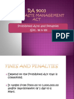 Prohibited Acts and Penalties RA 9003