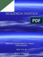 SEQUÊNCIA DIDÁTICA PORTUGUÊS