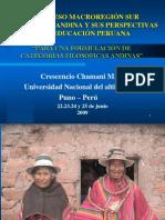 PARA UNA FORMULACIÓN DE CATEGORÍAS FILOSÓFICAS ANDINAS