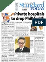 Manila Standard Today -- July 19, 2012