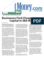 Businesses Find Cheap Capital in SBA Mortgages