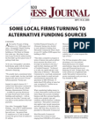 Local Firms Turn to Alternative Funding