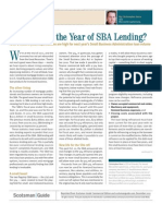 Will 2012 Be the Year of SBA Lending?