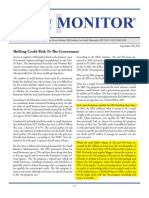 Shifting Credit Risk to the Government