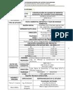 """Resumen Ejecutivo del proyecto """"Construcción de Coliseo de Deportes Municipal del cantón Chaguarpamba"""""""