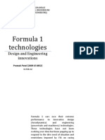 Formula 1 Technologies (DOCUMENTATION)