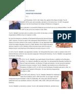 PMs of Malaysia