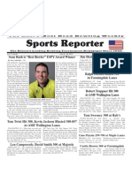 July 18 - 24, 2012 Sports Reporter