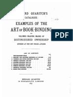 Art of Bookbinding 1897