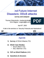 Ddos Disasters
