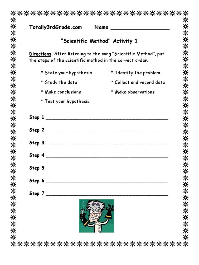3rd Grade – 10th Grade Science Worksheets