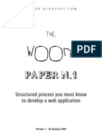 The Woork Papers N1 | Structured process you must know to develop a web application