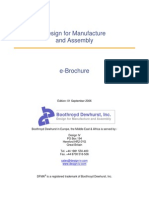 Design for Manufacture and Assembly e Brochure Edition September Boothroyd