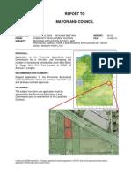 Rezoning Application RZ100317 and Provincial Agricultural Land Reserve Application No. 100169 (Eagle Wind RV Park Ltd.)