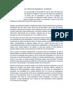 ANÁLISIS Y CRÍTICA DEL DOCUMMETAL de panzaso