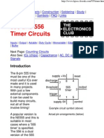 555 and 556 Timer Circuits