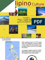 The Filipino Culture Presentation