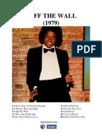 Michael Jackson- Off The Wall - Şarkı Sözleri Kitabı (Türkçe)