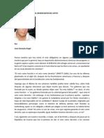 Juan Gonzalo Angel Restrepo Del Voto