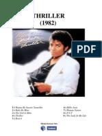 Michael Jackson- Thriller- Şarkı Sözleri Kitabı (Türkçe)