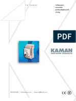 Kaman KD-2306 Data Sheet Web