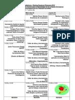 Programa de Mano Días Académicos