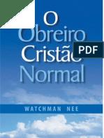 O Obreiro Cristao Normal Watchman Nee