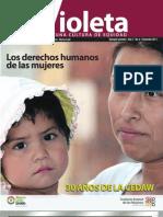 Revista Violeta No. 6   Los derechos humanos de las mujeres - 30 años de la CEDAW