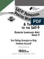 GLENCOE - Gr. 9 Grammar SAT Workbook