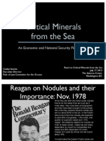Critical Minerals from the Sea