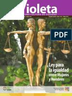Revista Violeta No. 7 | Ley para igualdad entre mujeres y hombres
