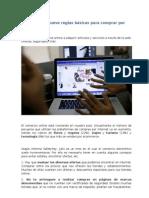 Reglas Para Comprar en Internet Skydrive