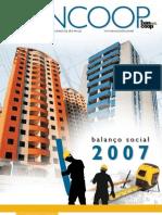 bancoop balanco 2007